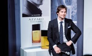 Lançamento da nova campanha do perfume Azzaro Pour Homme