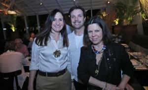 """De Vanda Klabin a Pedro Paranaguá no jantar do """"Joiart"""", no Rio"""