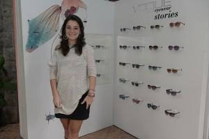 Vogue Eyewear arma petit comité em SP para apresentar suas Collabs