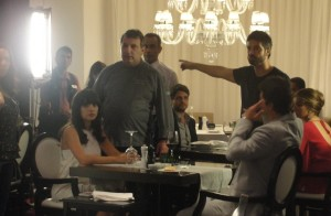 Chef Roland Villard faz as vezes de ator em filme com Vanessa Giácomo