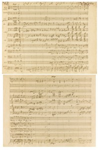 Manuscrito de Mozart vai a leilão por quase R$ 2 mi em Londres