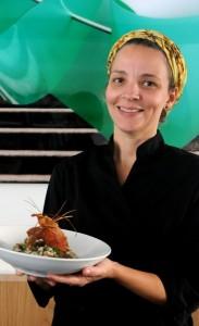 Chef Roberta Ciasca – do Miam Miam e Oui Oui – ensina risoto para dia das mães