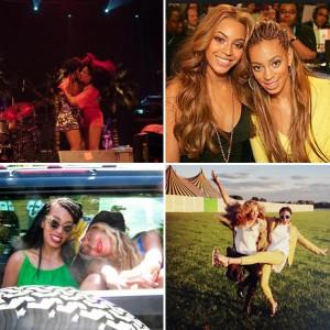Jay Z e Solange são vistos juntos e Beyoncé publica fotos com a irmã
