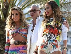 Pitbull, J.Lo e Claudia Leitte lançam clipe da música oficial da Copa. Play!