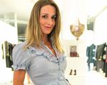 Ana Helena Palhares Hampshire dá à luz Antonio, seu primeiro filho