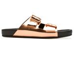 Desejo do Dia: pés metalizados na Birken luxo da Givenchy