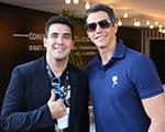 Marcio Garcia e André Marques curtem o sábado no Fast Drive Jaguar Land Rover