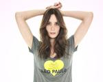 Lita Mortari cria t-shirt em prol da organização BrazilFoundation