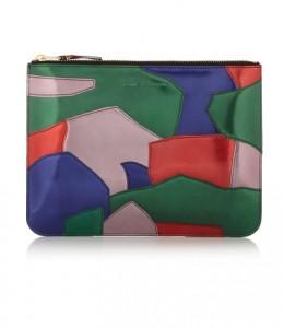 Desejo do dia: o patchwork colorido da clutch Comme Des Garçons