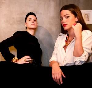 Betina de Luca e Marcella Virzi lançam coleção. E Kate Moss já tem uma peça