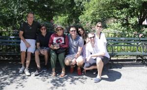 Florense arma piquenique dos sonhos no Central Park em Nova York