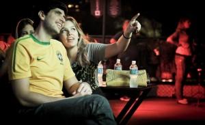 Brasil em campo e o agito foi grande na Mansão Budweiser