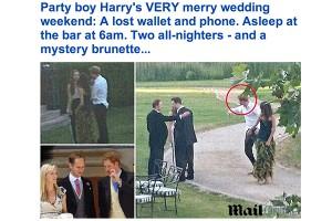 Príncipe Harry bebe todas e perde carteira e i-Phone na Eslováquia