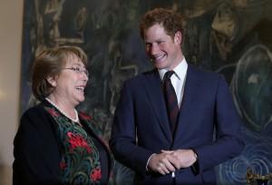 Do Brasil ao Chile: Harry continua sua saga pela América do Sul