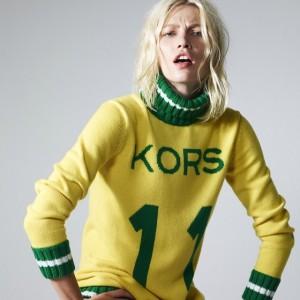 """Michael Kors escala Aline Weber para estrear seu suéter """"brasileirinho"""""""