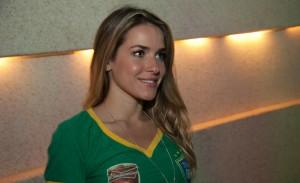 Tivoli Fire Up recebe gente bonita para assistir ao jogo entre Brasil e México