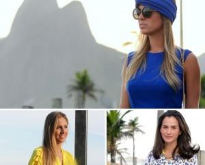 Quatro glamurettes cariocas, perfis diferentes, e looks para a Copa