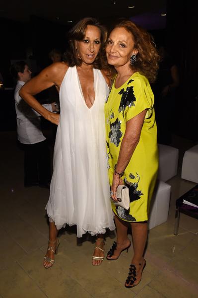 Donna Karan e Diane von Furstenberg
