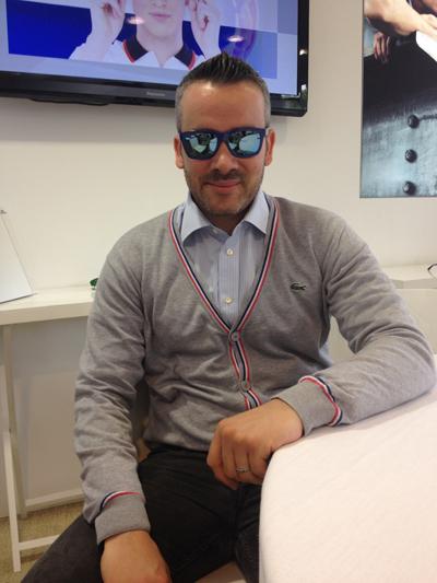 b7e4fcefdc8ad Em Paris, diretor da Lacoste Eyewear fala sobre tendências de óculos ...