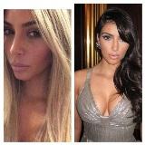 Kim Kardashian volta a ser loira? Só de brincadeirinha…