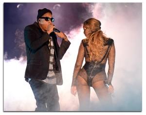 Bem de perto, a estreia da top turnê de Beyoncé e Jay Z em Miami