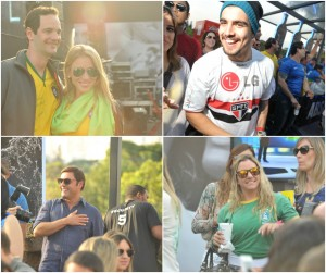 Bud Mansion reuniu glamurettes e globettes para assistir à vitória do Brasil