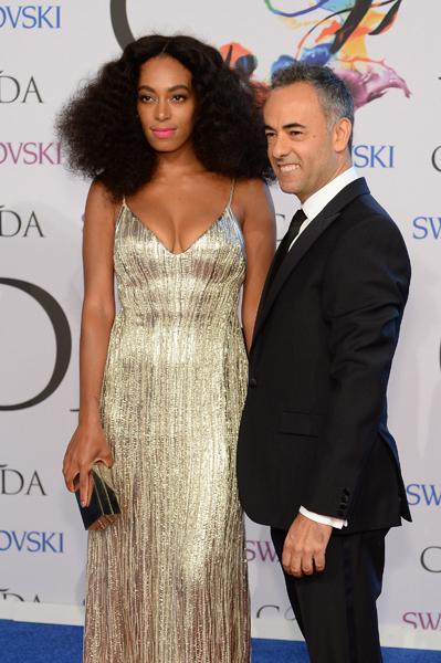 Solange Knowles e Francisco Costa