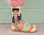 Conheça a stylist Kate Brien e suas divertidas 'Art Socks'. Vem cá!