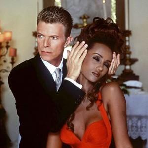 Só love: Bowie se declara para Iman em seu aniversário de casamento