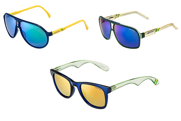 868c2c6371c45 Carrera lança óculos especiais para a Copa inspirados nas riquezas ...