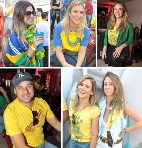 Glamurettes torcem pelo Brasil na Mansão Budweiser, em São Paulo