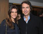 Carla e Felipe Nabuco dão as boas-vindas à primeira filha, Antonia