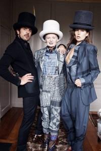 Vivienne Westwood estrela com o marido campanha da própria marca