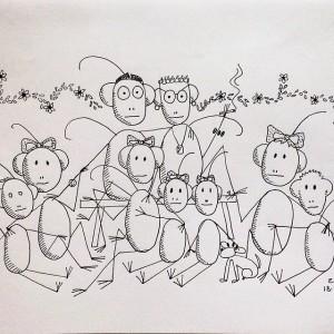 José Pedro de Oliveira Costa faz retrato da família com olhar engajado
