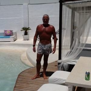 A semana de festa de Fernando Alterio e companhia em Ibiza