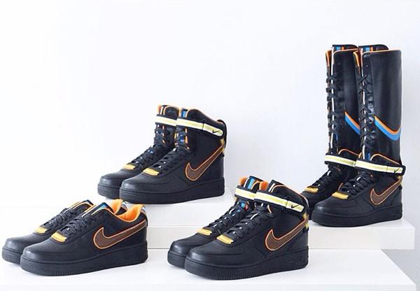 Os tênis assinados por Riccardo Tisci para a Nike viraram objeto de desejo  entre os modettes mundo afora. Nesta semana 156a63656fca8