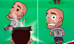 Heranças da Copa: mordida de Suárez vira game em novo app