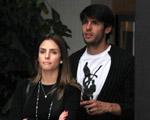 Carol Celico e Kaká almoçam juntos em São Paulo. Olha o flagra