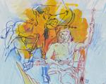 Linha certa: Paulo Von Poser dá curso de desenho na Casa do Saber