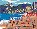Desejo do Dia: cartão-postal do Rio em lenço de seda Prada