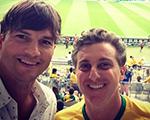 Ashton, Gisele e mais famosos já estão torcendo pelo Brasil
