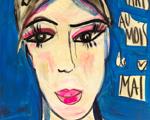 """Desejo do Dia: a """"Menina em Fundo Azul"""" de Isabelle Tuchband"""