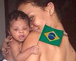 Rihanna inclui a sobrinha em sua torcida pelo Brasil. Vem ver!