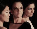 Letícia Sabatella interpreta Antígona, com figurino de Gloria Coelho: aos detalhes