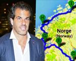"""Álvaro Garnero sobre duas rodas na Noruega: """"É uma homenagem a minha avó"""""""