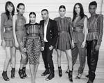 Safári fashion: o inverno 2014 da Balmain de Olivier Rousteing