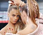 Cara Delevingne no ringue para a campanha da Chanel. À luta!