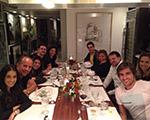 David Bastos recebe turma boa de arquitetos em jantar. Aos detalhes!