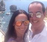 Fabiana Delfim com namorado novo pela Europa. Glamurama mostra!