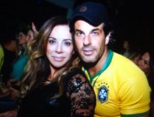 Cristiana Arcangeli e Álvaro Garnero estão juntos novamente!